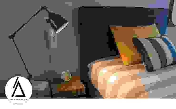 Projeto – Design de Interiores – Apartamento CM Areabranca Quartos de criança modernos