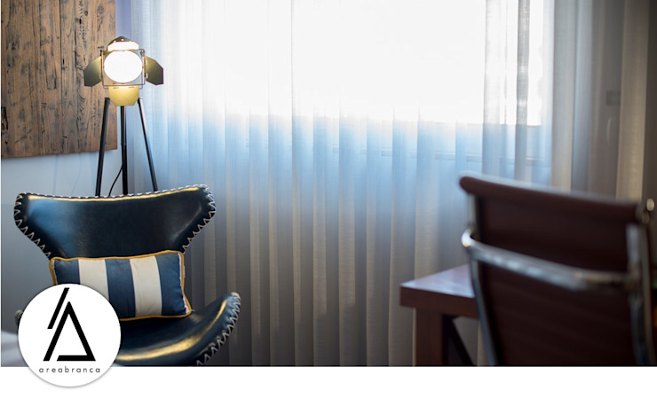 Projeto – Design de Interiores – Apartamento CM Areabranca Quartos de adolescente