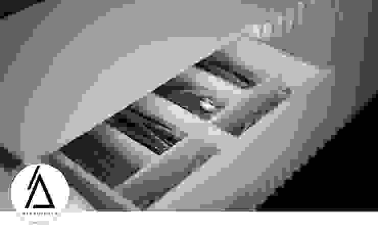 Projeto – Design de Interiores – Apartamento CM Areabranca Salas de jantar modernas