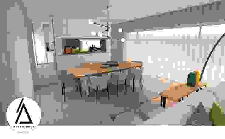 Areabranca Столовая комната в стиле модерн