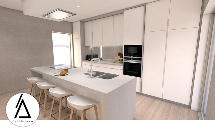 Areabranca Кухня в стиле минимализм