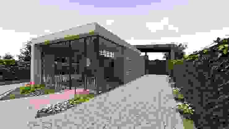 Fachada Norte CONCEPTUAL ESTUDIO + ARQUITECTURA SAS Conjunto residencial Metal Beige