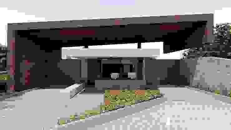 Fachada Principal CONCEPTUAL ESTUDIO + ARQUITECTURA SAS Conjunto residencial Concreto Beige