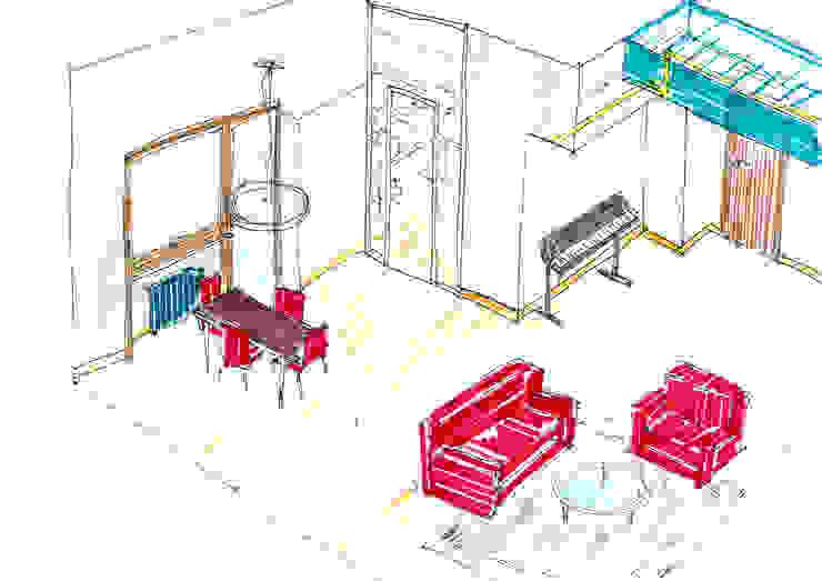 ASSONOMETRIA - studio spaziale OPA Architetti