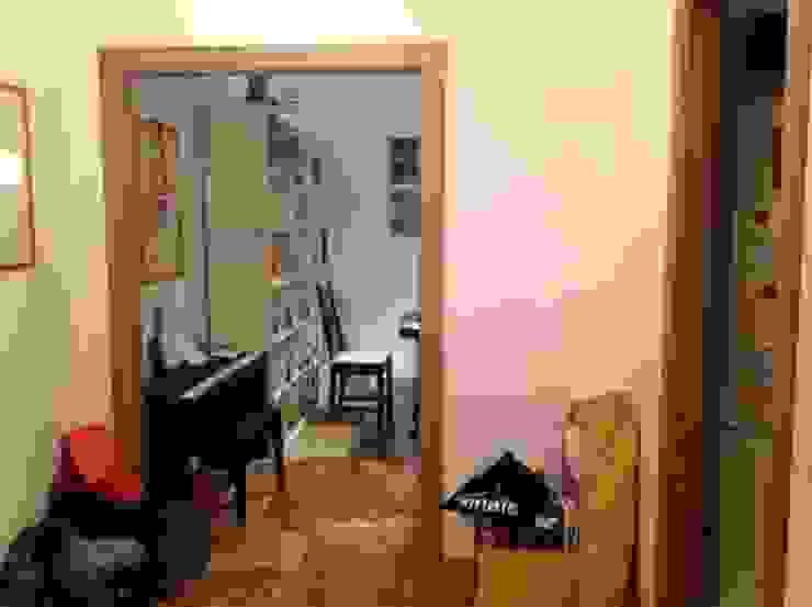 INGRESSO ANTE OPERAM - vista verso il soggiorno OPA Architetti
