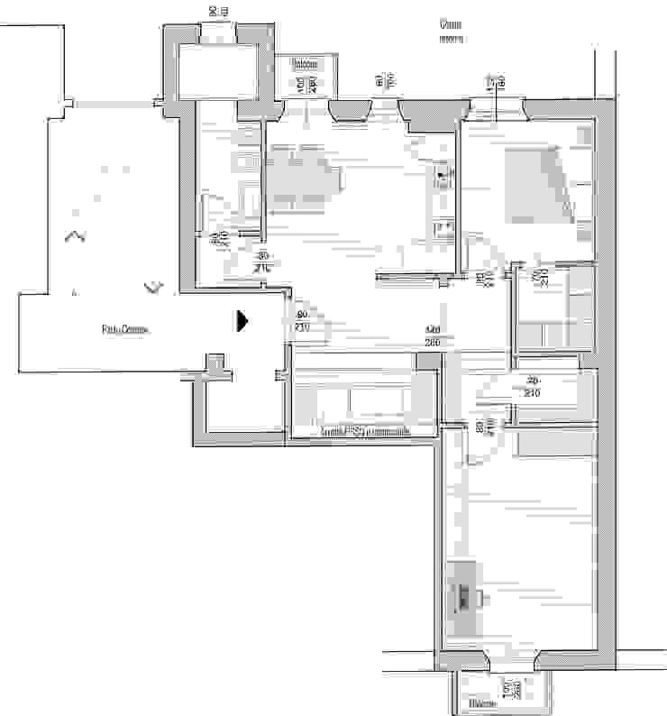 PLANIMETRIA/ generale Arch+ Studio