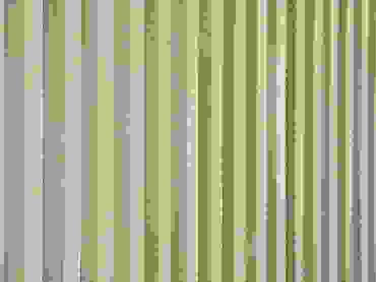 PARETI/ dettaglio Arch+ Studio Negozi & Locali commerciali moderni