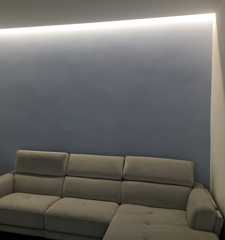 SOGGIORNO/ divano Arch+ Studio Soggiorno moderno
