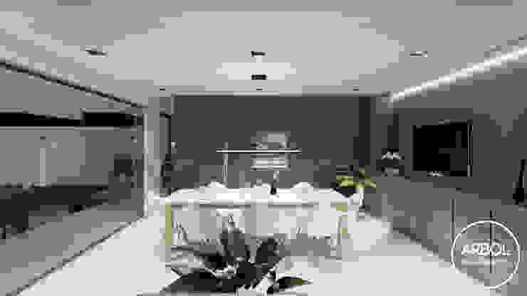 ARBOL Arquitectos Minimalist dining room