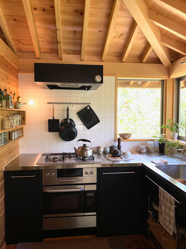 北村建築設計事務所 Modern Kitchen