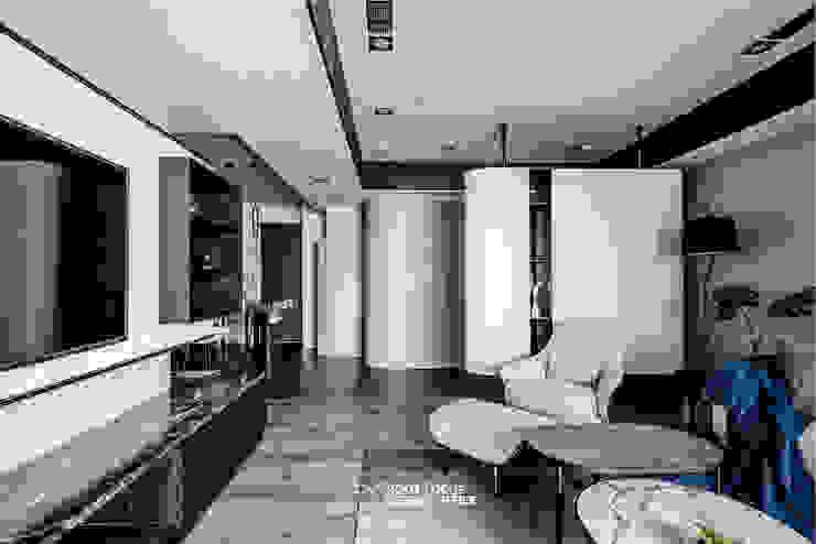 築本國際設計有限公司 Living room