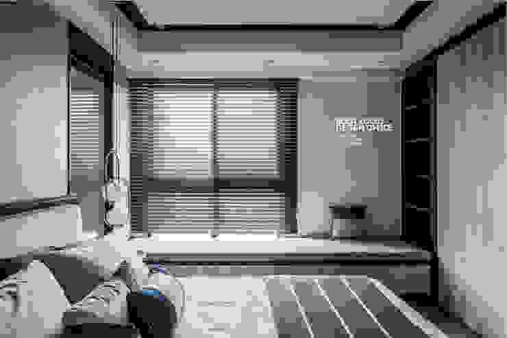 築本國際設計有限公司 Eclectic style bedroom