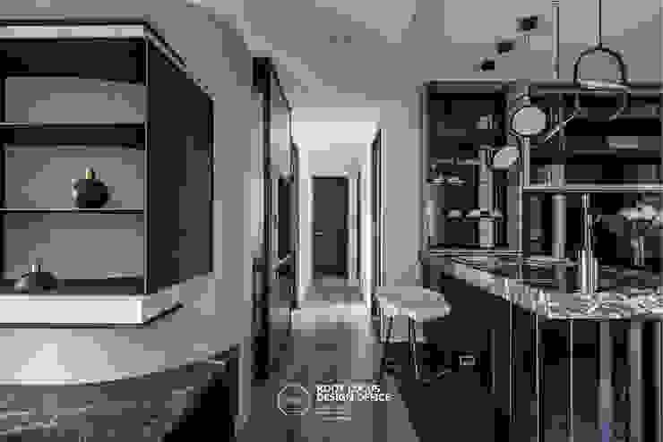 築本國際設計有限公司 Eclectic style dining room