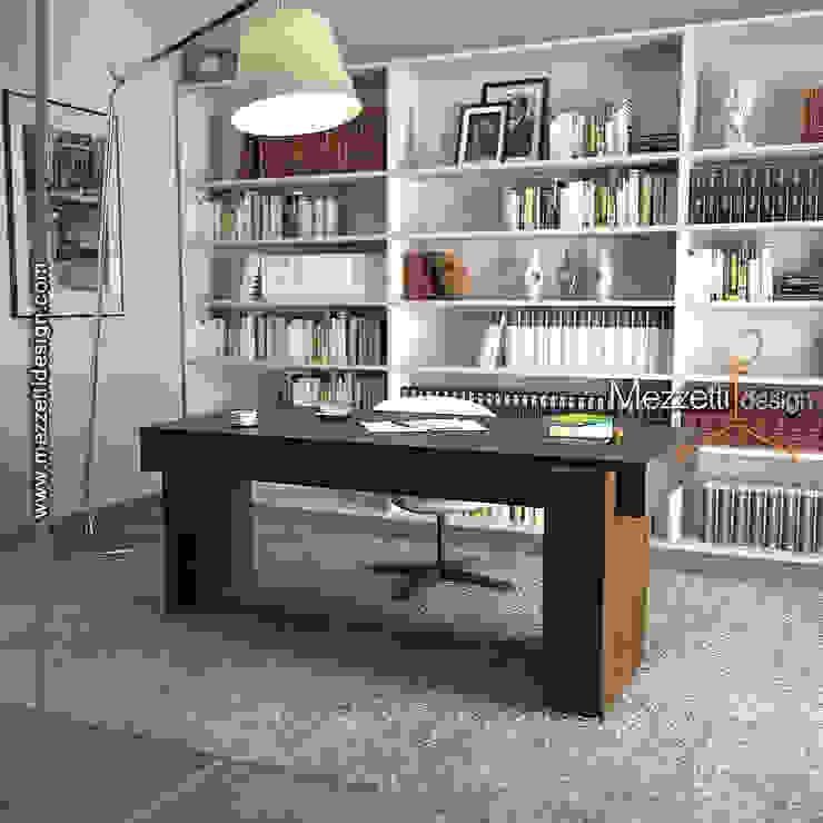 Mezzettidesign Study/officeDesks Wood Black