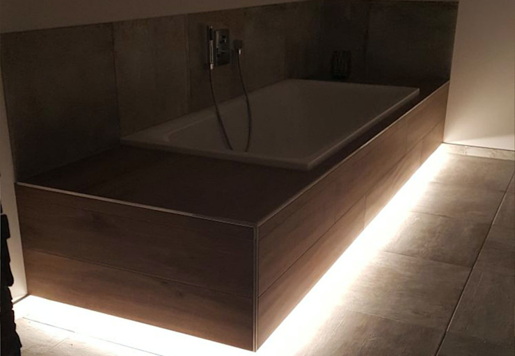 Privathaus Mehlinger Skapetze Lichtmacher Moderne Badezimmer