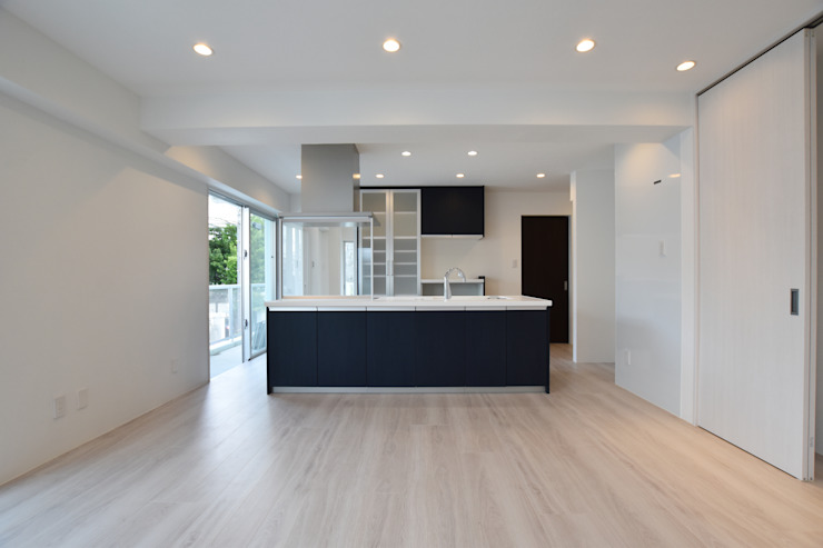 Style Create Built-in kitchens Blue