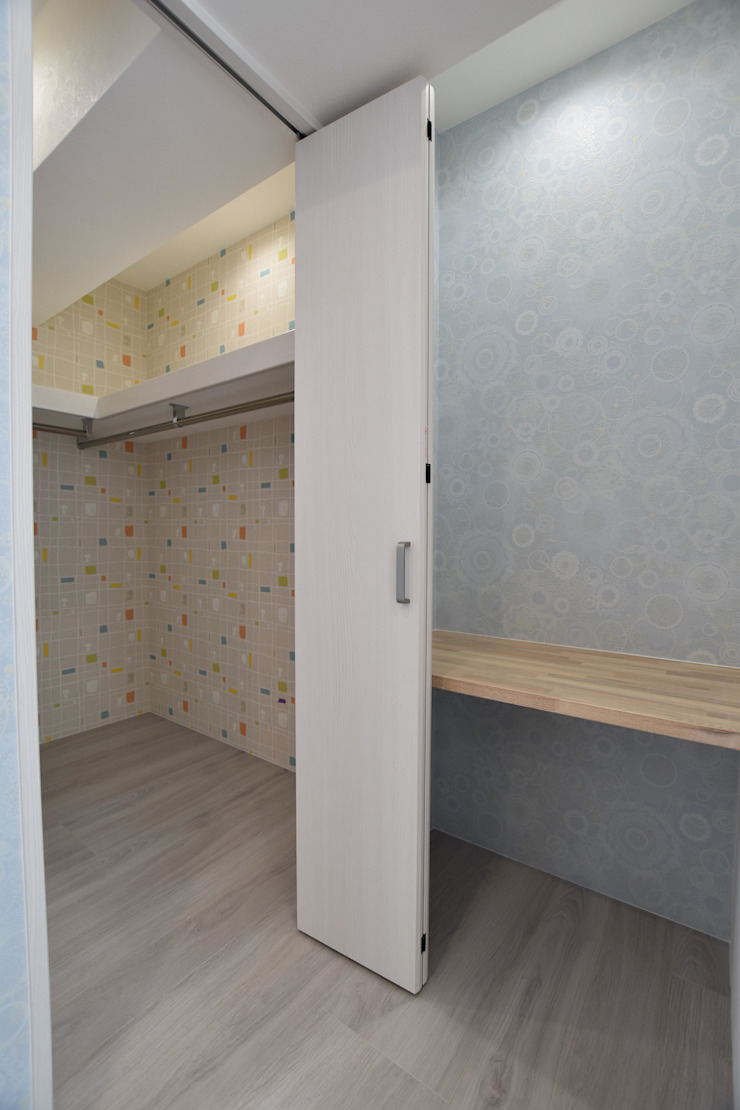 Style Create Scandinavian style dressing room