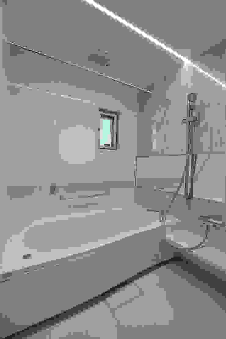 Style Create Scandinavian style bathroom Blue