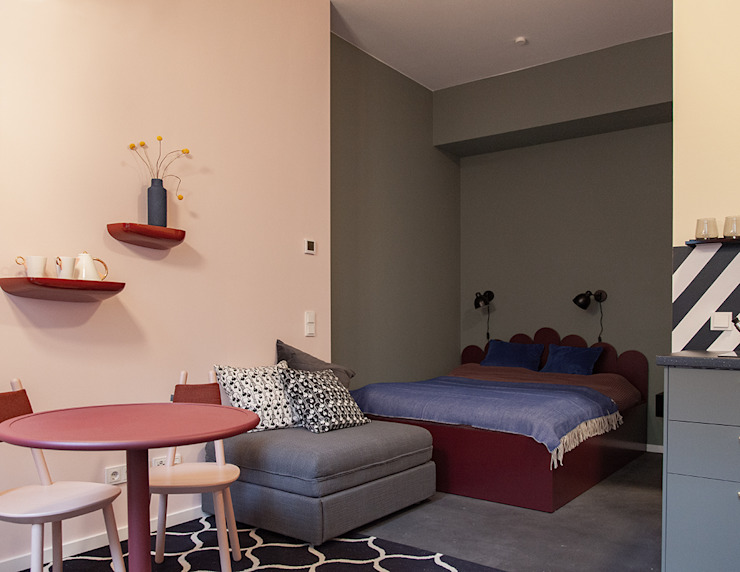 Berlin Interior Design Chambre originale