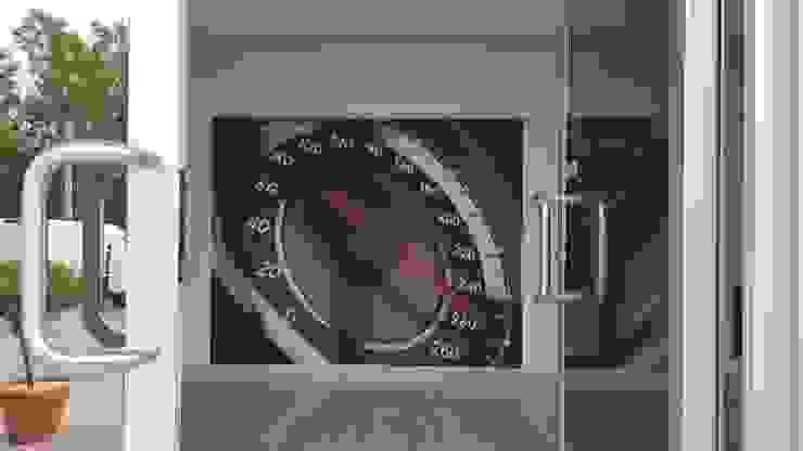 DECORAZIONE UFFICIO TCAR MONDOSTICKERS Concessionarie d'auto moderne PVC