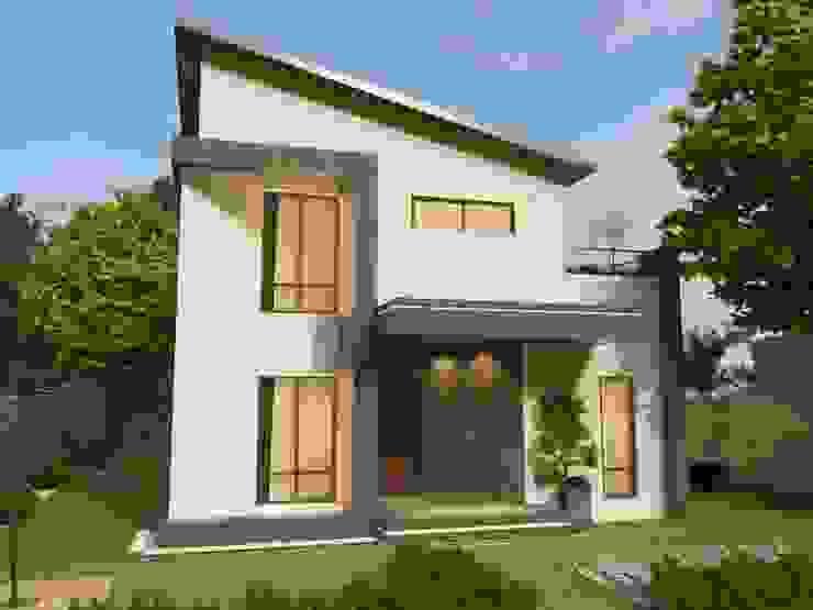 現代簡約風格 麥斯迪設計 Single family home Concrete Grey