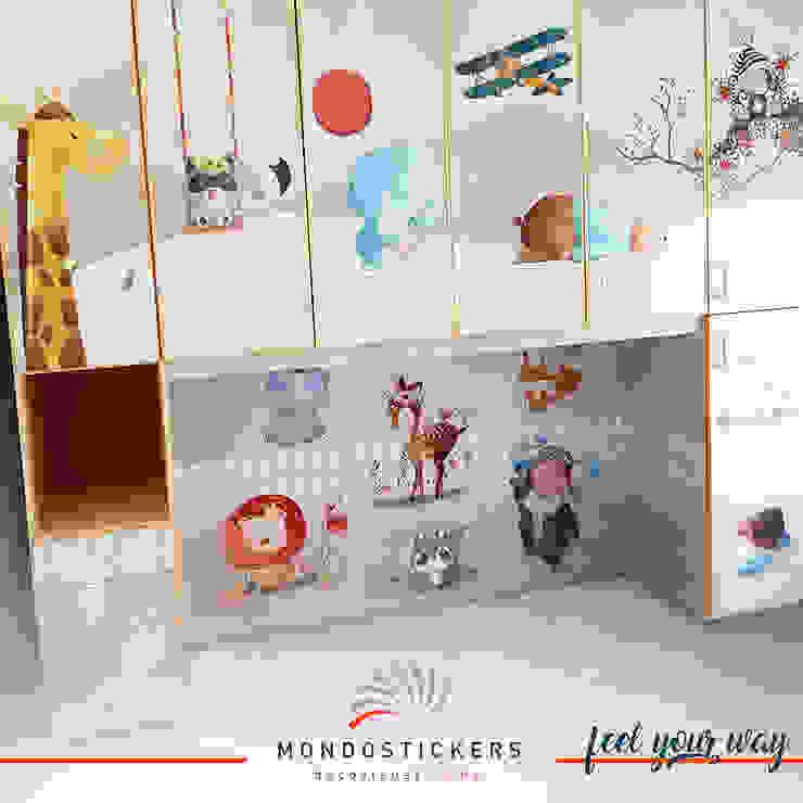 RELOOKING MOBILE CAMERETTA FANTASY MONDOSTICKERS Cameretta neonato PVC