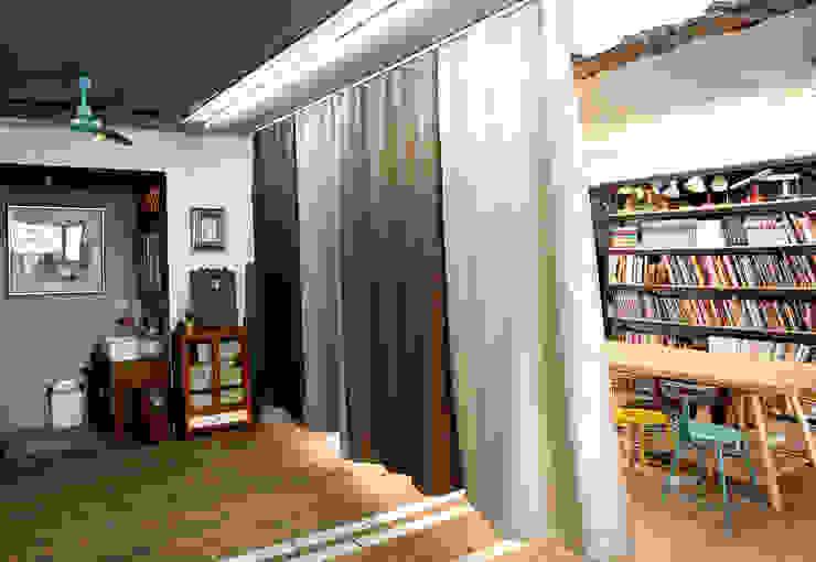 6招簡單佈置技巧,居家辦公也能公私分明|遮光布簾 MSBT 幔室布緹 書房/辦公室 Brown