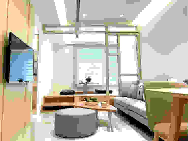 6招簡單佈置技巧,居家辦公也能公私分明|斑馬簾 MSBT 幔室布緹 客廳 Transparent