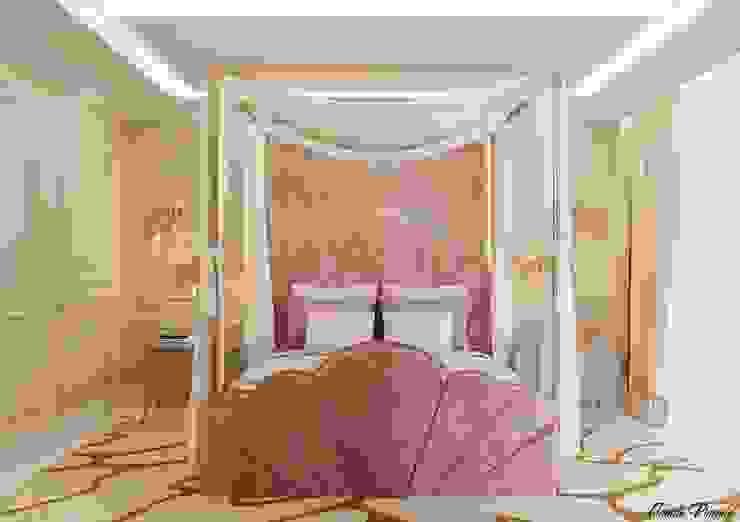 Suíte 1 Camila Pimenta | Arquitetura + Interiores Quartos das meninas Madeira Rosa