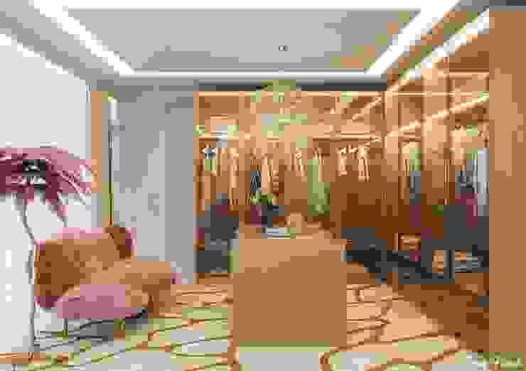 Closet Suíte 1 Camila Pimenta | Arquitetura + Interiores Closets Madeira Rosa