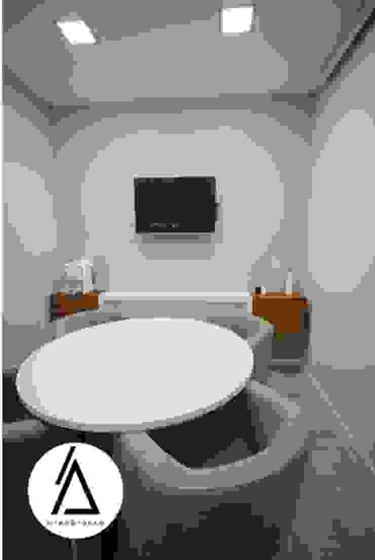 Projeto – Arquitetura de Interiores – Clinica EA Smile Areabranca Clínicas modernas
