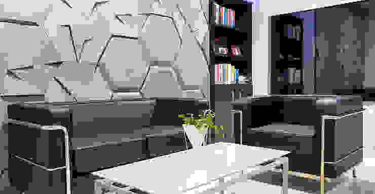 ZICARO - producent paneli 3D 壁&床壁の装飾 灰色
