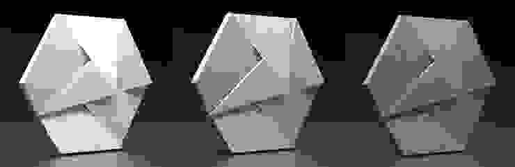ZICARO - producent paneli 3D 勉強部屋/オフィス収納 陶器 灰色