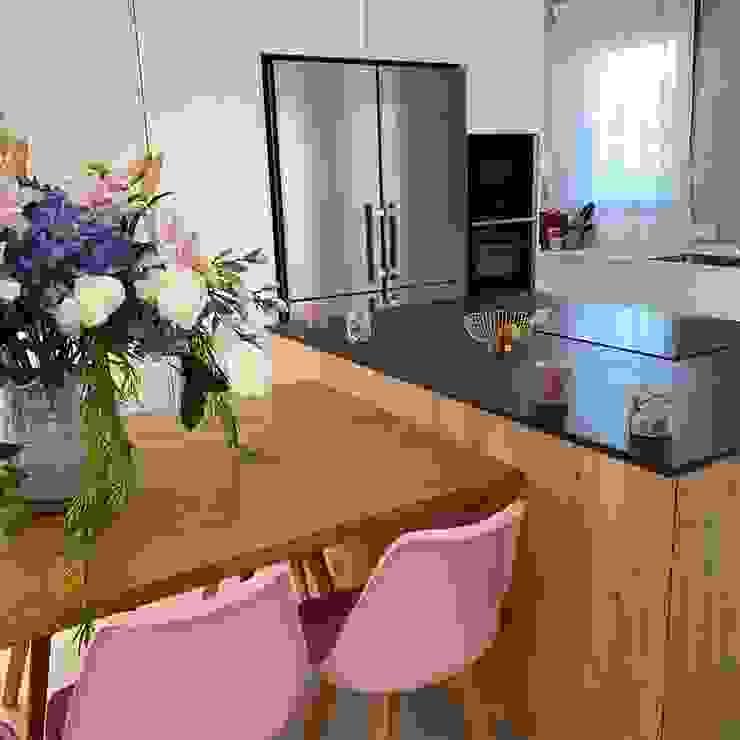 Muebles de Cocina Aries Вбудовані кухні Дерево Дерев'яні