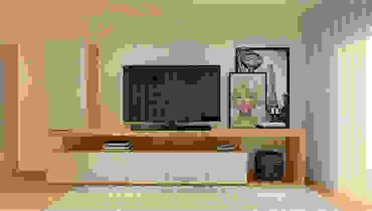 Projeto T1 ByOriginal Salas de estar modernas