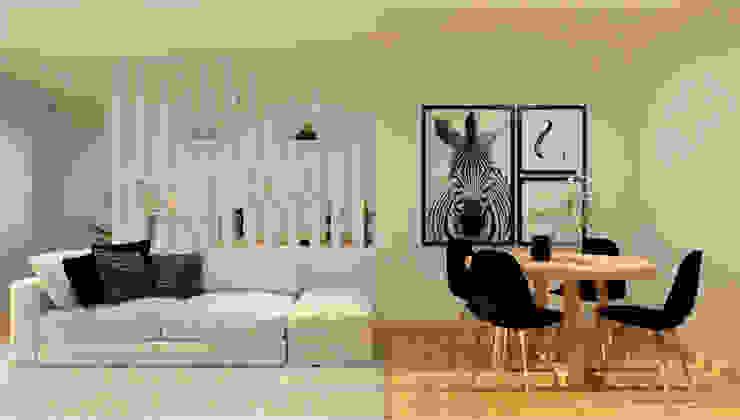 Projeto T1 ByOriginal Salas de jantar modernas