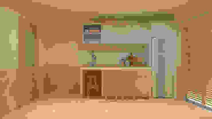 Projeto T1 ByOriginal Cozinhas modernas
