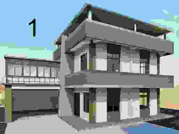 建物拉皮後造型 麥斯迪設計