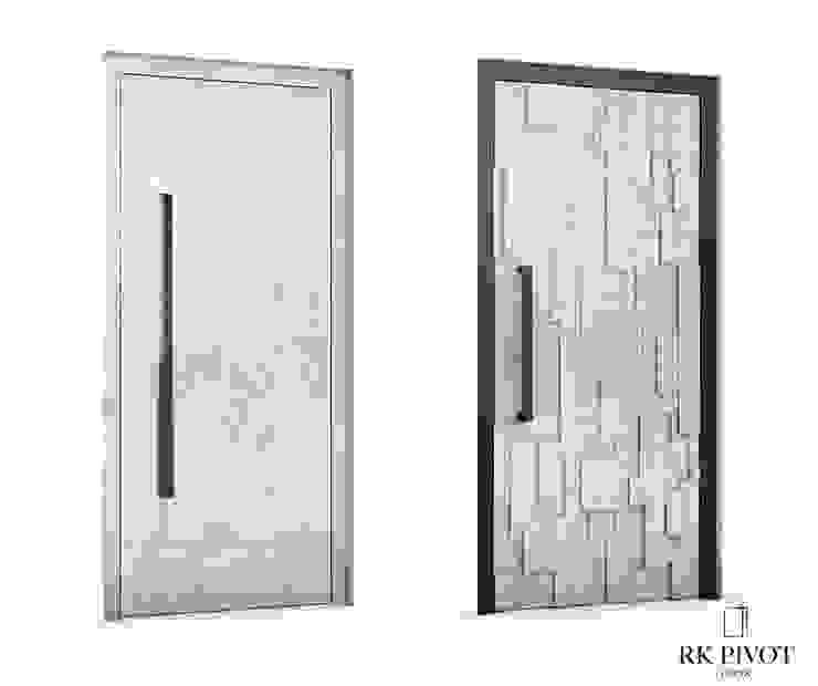 RK Exclusive Doors Парадні двері Бетон Сірий