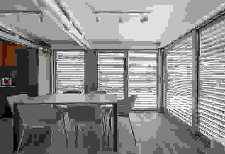La veranda Arch+ Studio Cucina attrezzata
