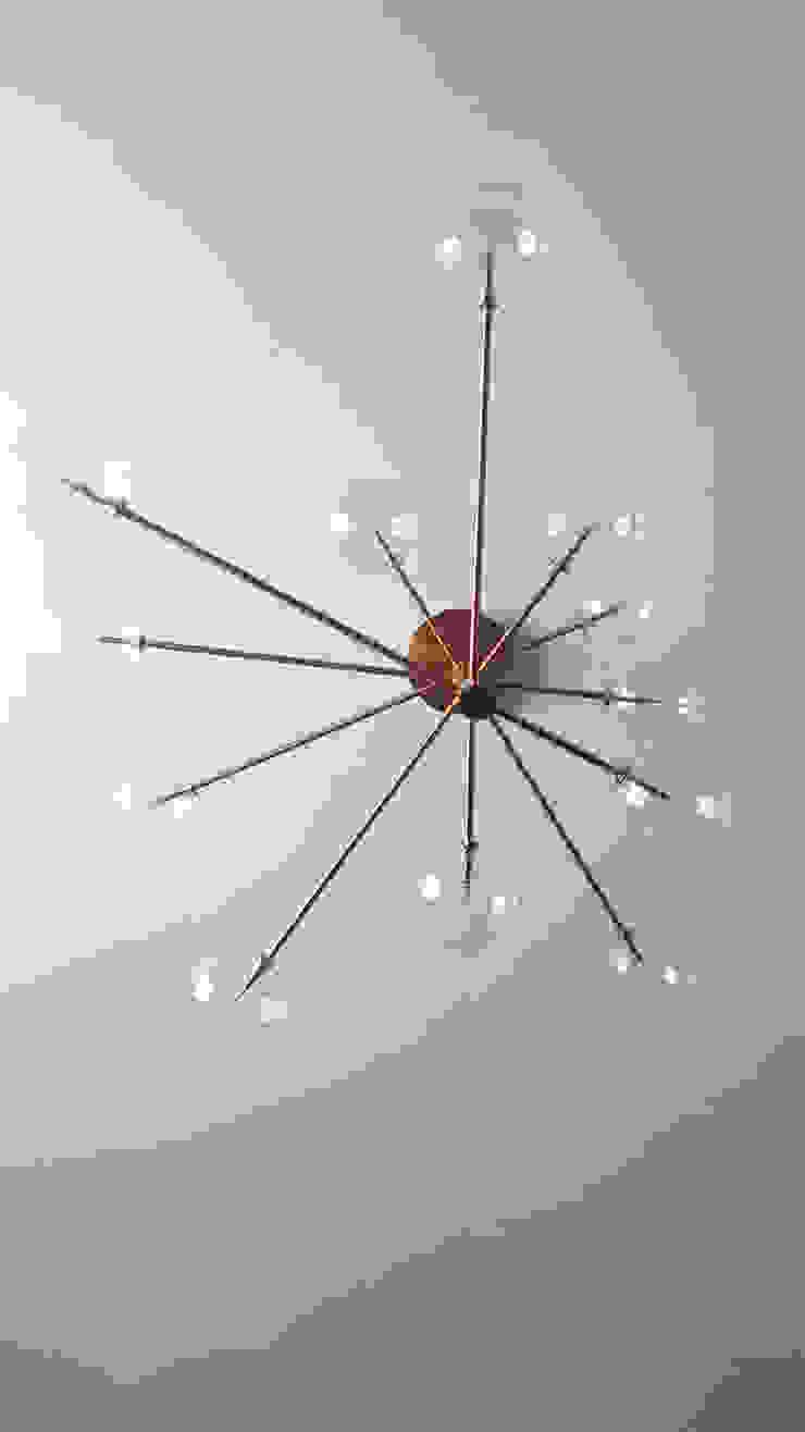 Lampada Equinoxe viemme61 SoggiornoIlluminazione Metallo Ambra/Oro