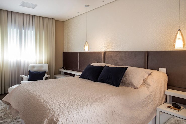Palladino Arquitetura Modern Bedroom