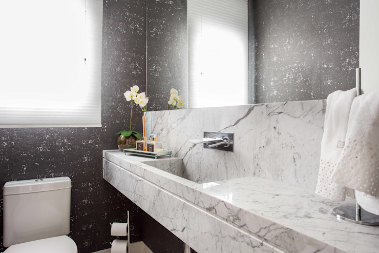 Palladino Arquitetura Modern Bathroom