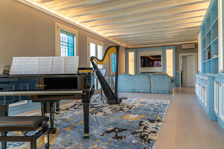 Brummel Rustic style living room Solid Wood