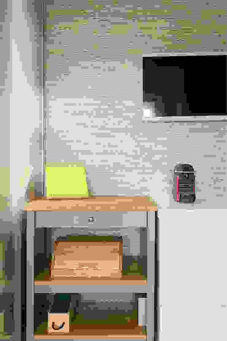 Cozinha   Apartamento T2   Oeiras Traço Magenta - Design de Interiores CozinhaBancadas