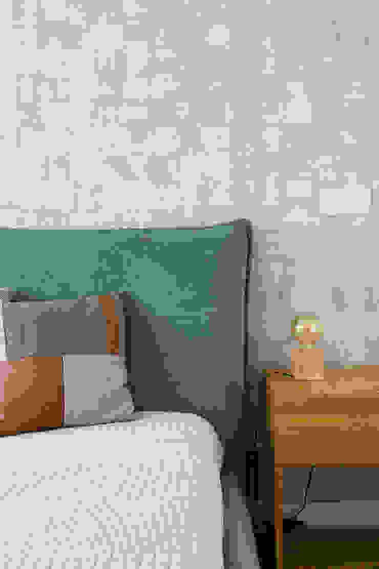 Suite   Apartamento T2   Oeiras Traço Magenta - Design de Interiores QuartoAcessórios e decoração