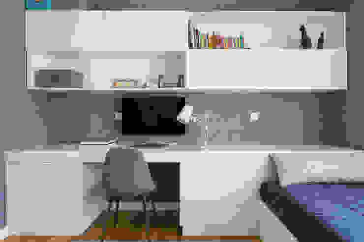 Quarto   Apartamento T2   Oeiras Traço Magenta - Design de Interiores QuartoAcessórios e decoração