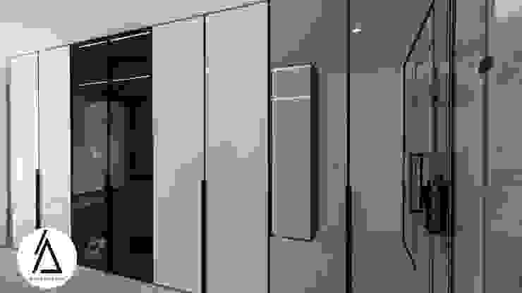Projeto – Design de Interiores – Suite Principal FR Areabranca Closets modernos