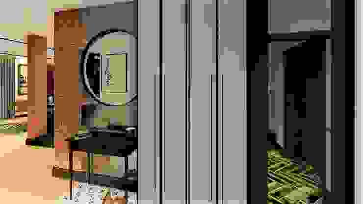 szafa livinghome wnętrza Katarzyna Sybilska Industrialna garderoba