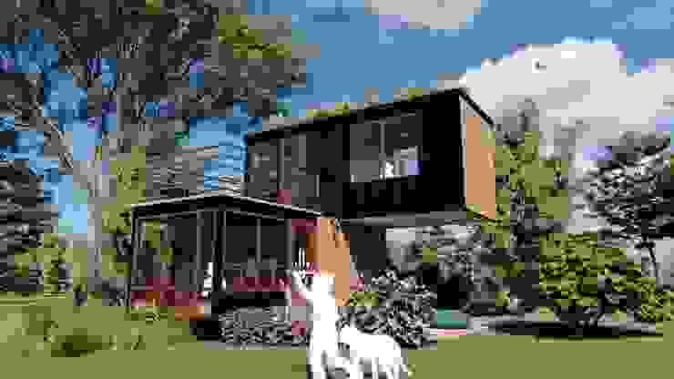 Objetivo IMZA Arquitectura Casas pequeñas